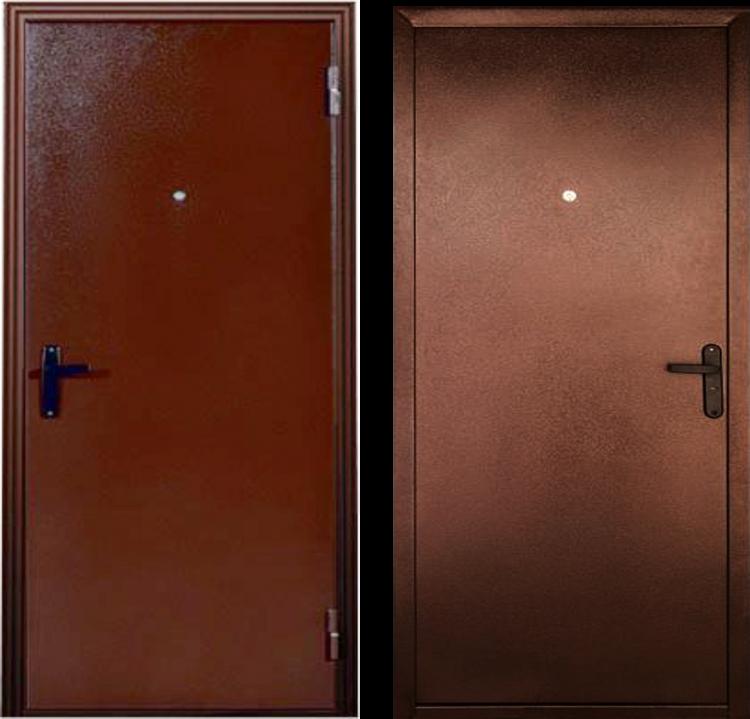Уличные металлические двери ДС 164