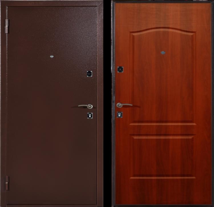 Дверь входная металлическая утепленная ДС 292