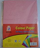 Бумага A4,80гр/100л. розовая