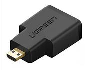 Переходник HDMI(f)-micro HDMI(m) Ugreen (20106)