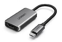 Конвертер UGREEN USB 3.1(m) Type C на HDMI (50314, 853144)