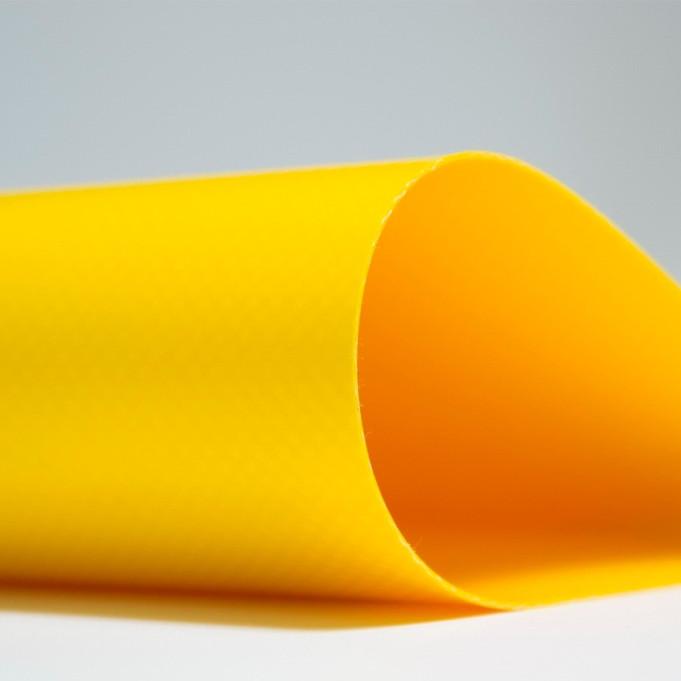 Желтая тентовая ткань (650гр.) 2,5м х 50м