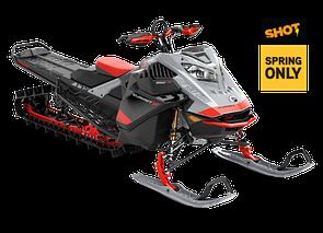 "Снегоход Summit X Expert 165"" SHOT 850 E-TEC Turbo Серый 2021"