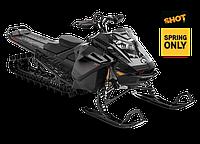 "Снегоход Summit X Expert 165"" SHOT 850 E-TEC Turbo Черный металлик 2021"