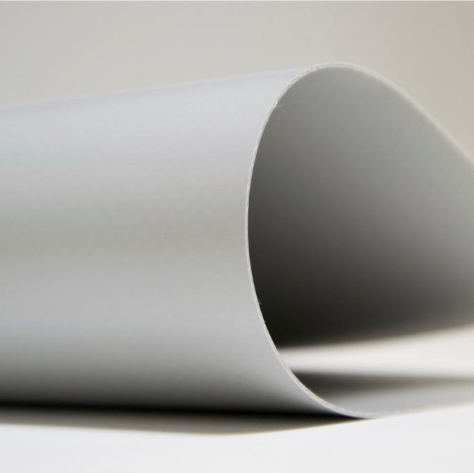Серая тентовая ткань (650гр.) 2,5м