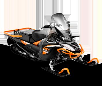 Снегоход 69 Ranger Alpine 900 ACE Turbo Черно-серый 2021