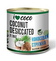 Стружка кокосовая высокой жирности I❤COCO 100 гр