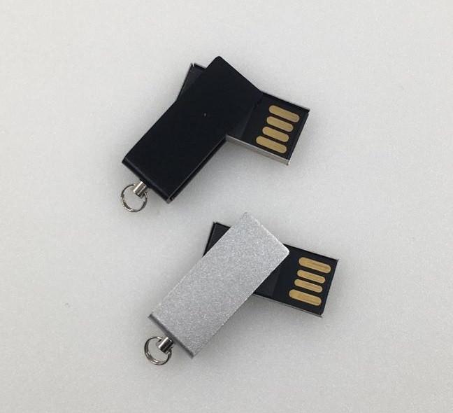 Флешка мини твист 2, 4, 8, 16, 32, 64 гб. Бесплатная доставка по РК.