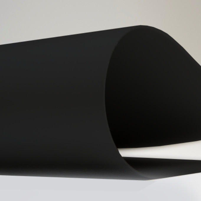 Тентовая ткань 650гр ЧЕРНЫЙ  2,5м*50м ТАРПОУЛИН