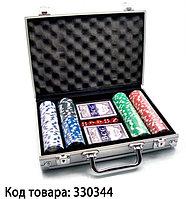 Набор для покера 200 Pc Poker Game Set без Номинала (в алюминиевом кейсе)