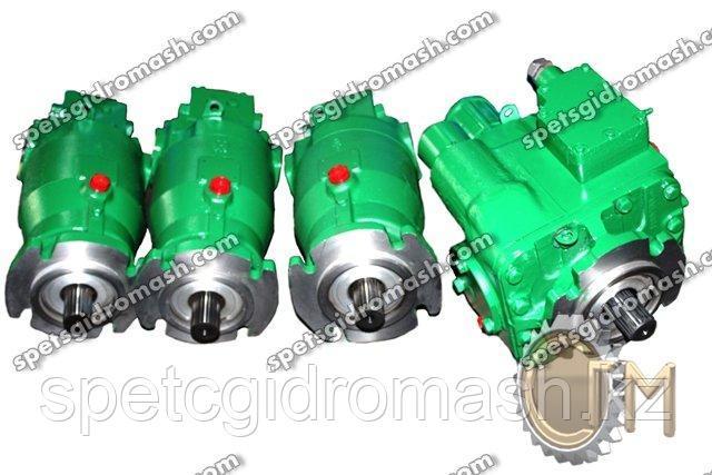 Гидростатическая трансмиссия ГСТ-90 вал 21 шлиц (комплект НП + МП)