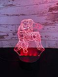 Ночник 3D Железный человек, фото 2