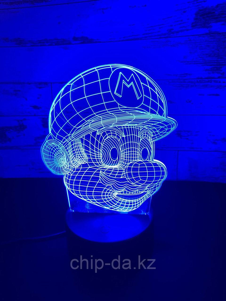 Ночник 3D Марио