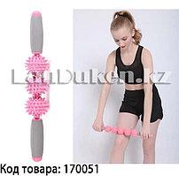 Массажер-ёжик для тела Candise (розовый)