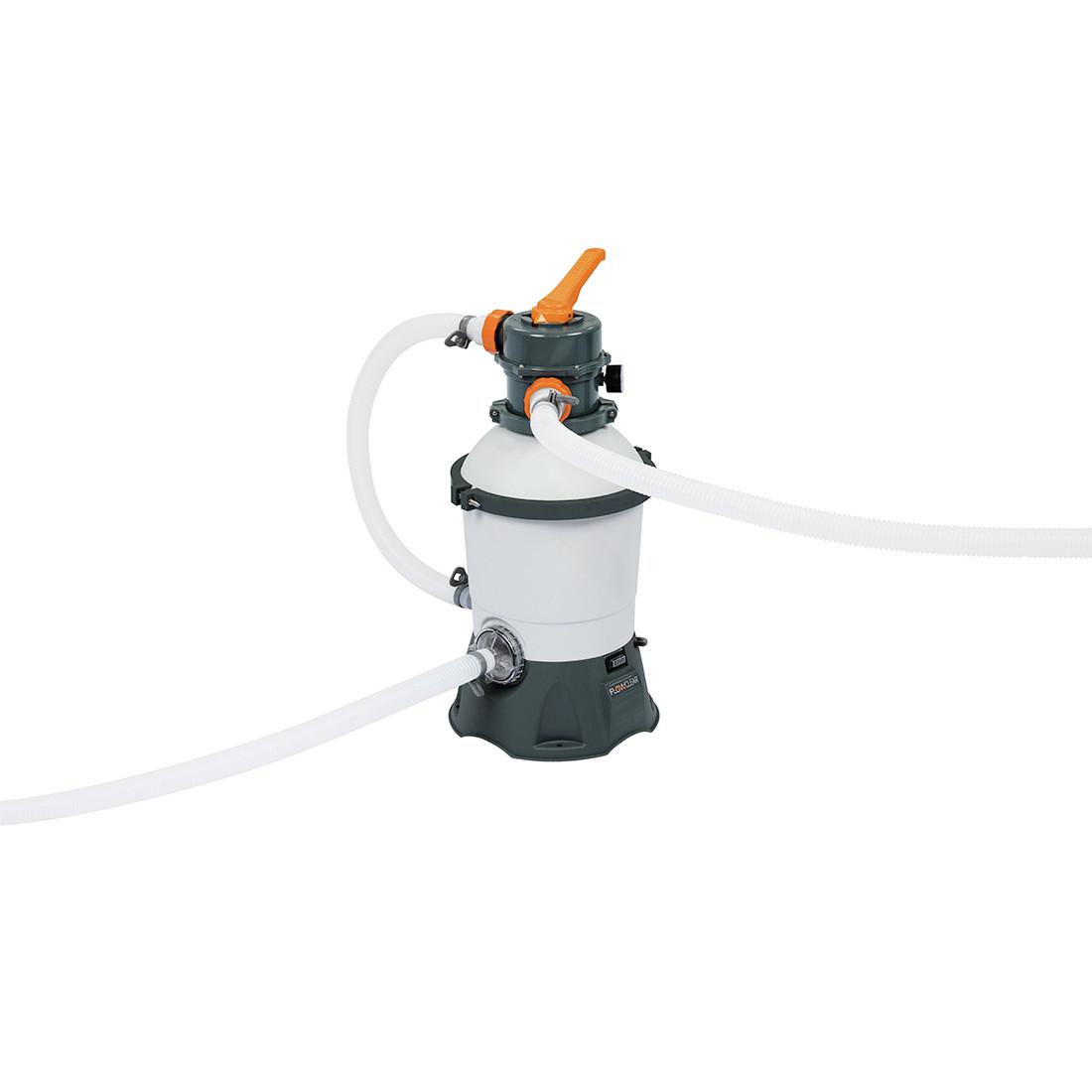 Фильтрующий песчаный насос Flowclear для бассейнов, BESTWAY, 58515 (58397)