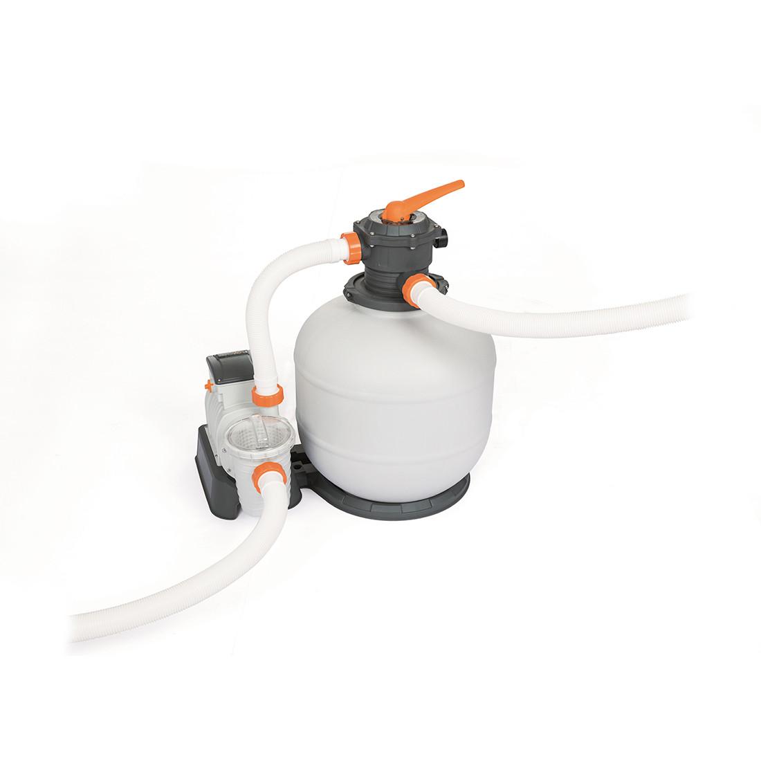 Фильтрующий песчаный насос Flowclear для бассейнов, BESTWAY, 58499 (58366)