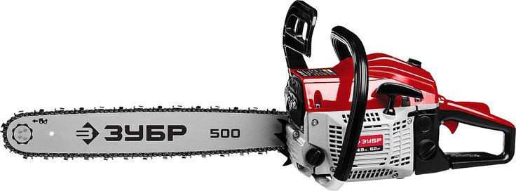 Бензопила ЗУБР, ПБЦ-М62-50, 62 см3, шина 50 см, 4.8 л.с., фото 2