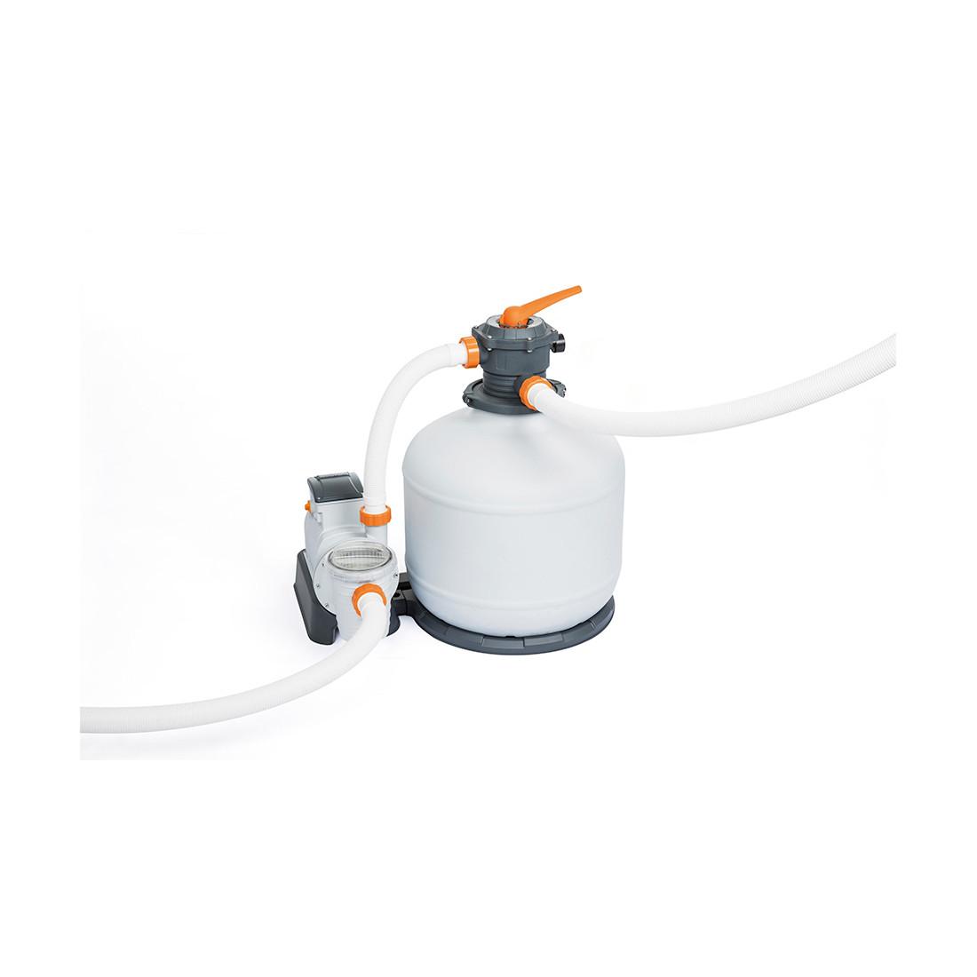 Фильтрующий песчаный насос Flowclear для бассейнов, BESTWAY, 58486, Пластик, 11355 л/час