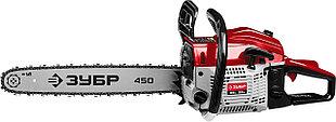 Бензопила ЗУБР ПБЦ-М52-45, 52 см3, шина 45 см, 3.5 л.с.