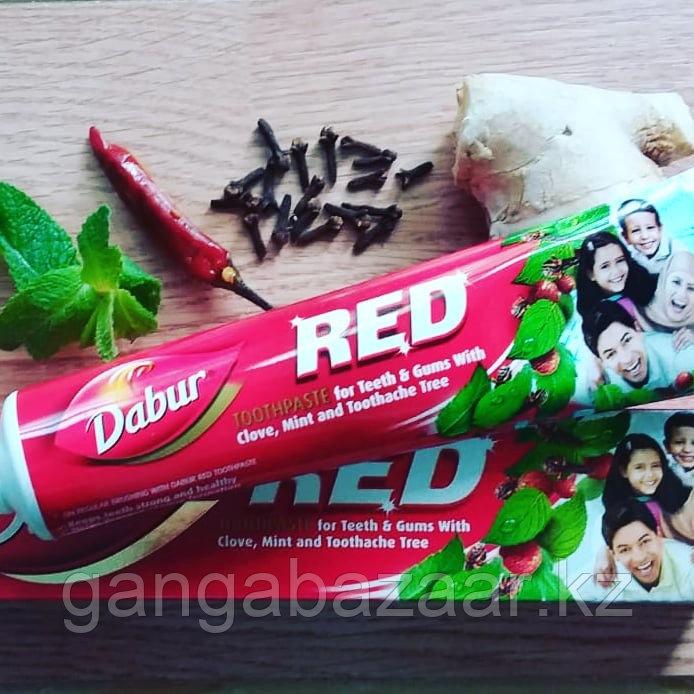 Аюрведическая зубная паста Ред Дабур (Red Dabur) с перцем, гвоздикой, мятой, корицей, 200 гр