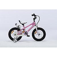 """ROYAL BABY Велосипед двухколесный FREESTYLE 16"""" Розовый PINK"""