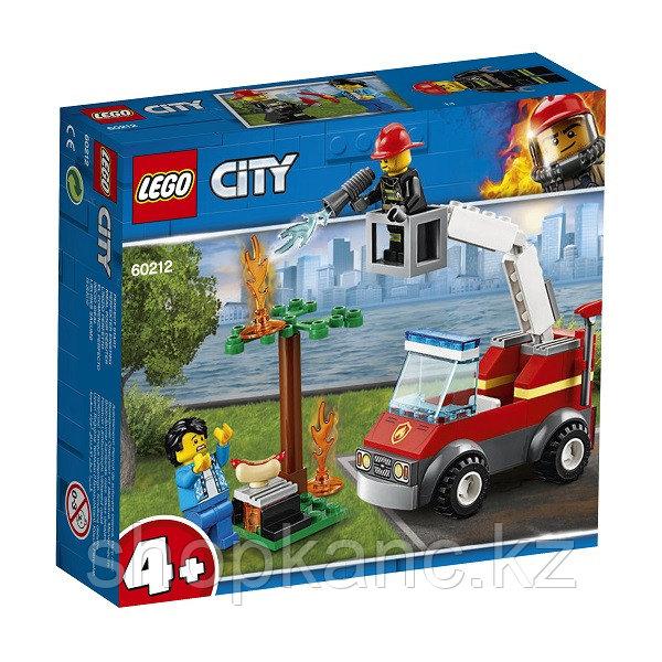 Игрушка Город Пожарные: Пожар на пикнике