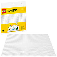 LEGO Classic 11010 Конструктор ЛЕГО Классик Белая базовая пластина