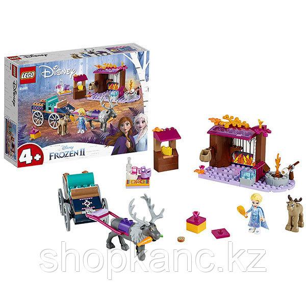 LEGO Disney Princess 41166 Конструктор ЛЕГО Принцессы Дисней Дорожные приключения Эльзы