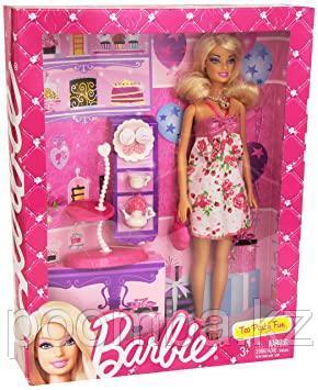 "Кукла Barbie Барби ""Стиль"" - Барби чаепитие"