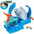 """Hot Wheels Игровой набор """"Голодная Акула-робот"""", Хот Вилс Измени цвет, фото 2"""