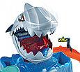 """Hot Wheels Игровой набор """"Голодная Акула-робот"""", Хот Вилс Измени цвет, фото 5"""