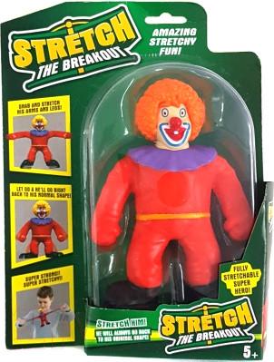 Stretch The Breakout Тянущаяся игрушка Клоун Стретч, 17 см.