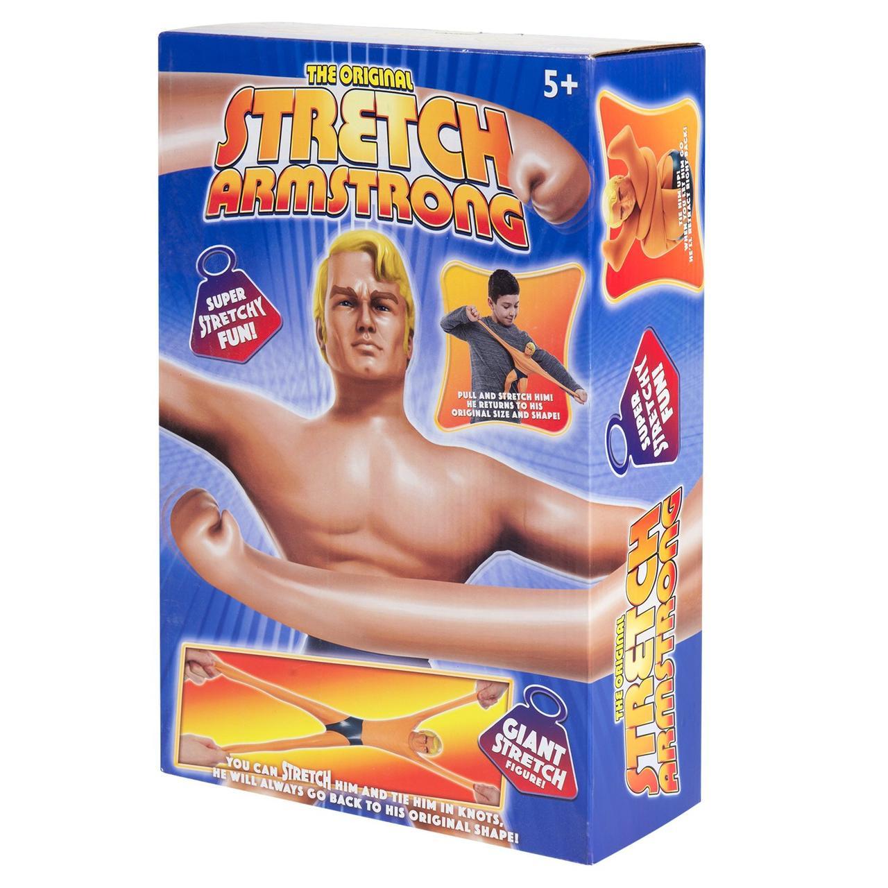 Stretch Тянущаяся фигурка Армстронг Стретч, 30 см.