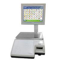 Торговые весы с печатью этикеток CL7000-15S
