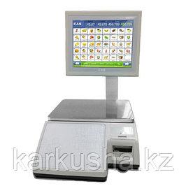 Торговые весы с печатью этикеток CAS (Юж. Корея)