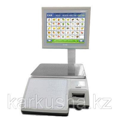 Торговые весы с печатью этикеток CL7000-30S