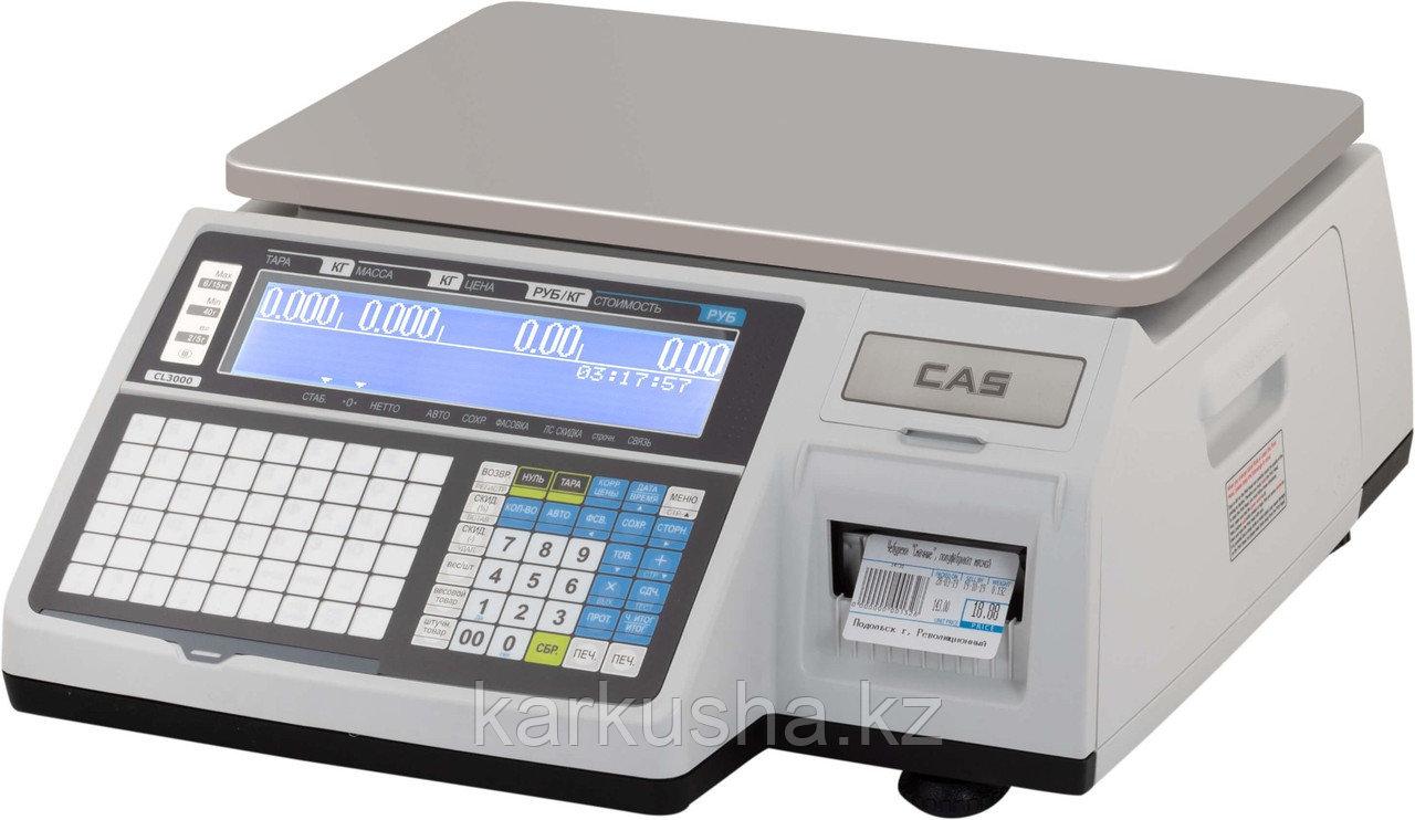 Торговые весы с печатью этикеток CL3000-30B
