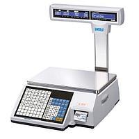 Торговые весы с печатью этикеток CL5000-15P