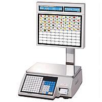 Торговые весы с печатью этикеток CL5000J-15IS