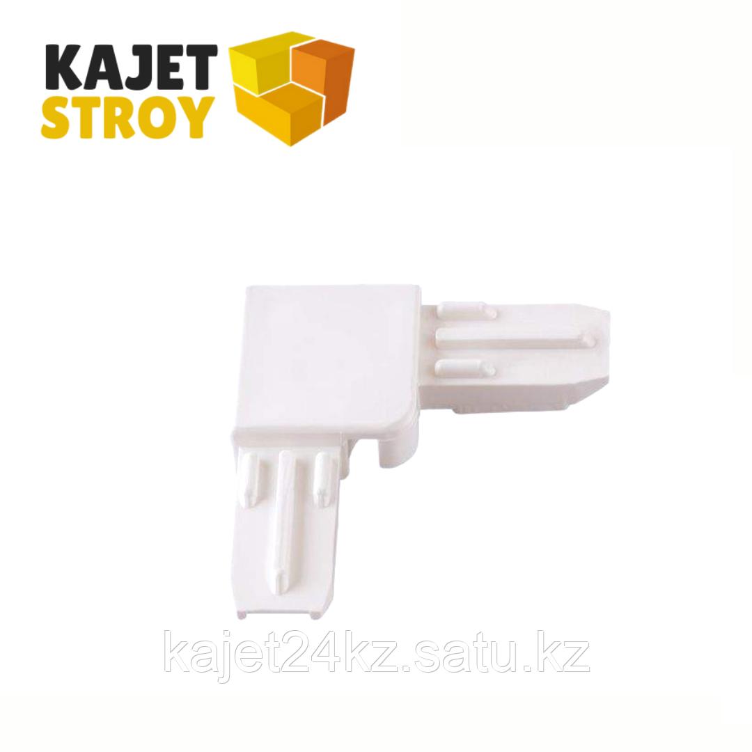 Соединение уголок белое 30 мм (10.5*25)