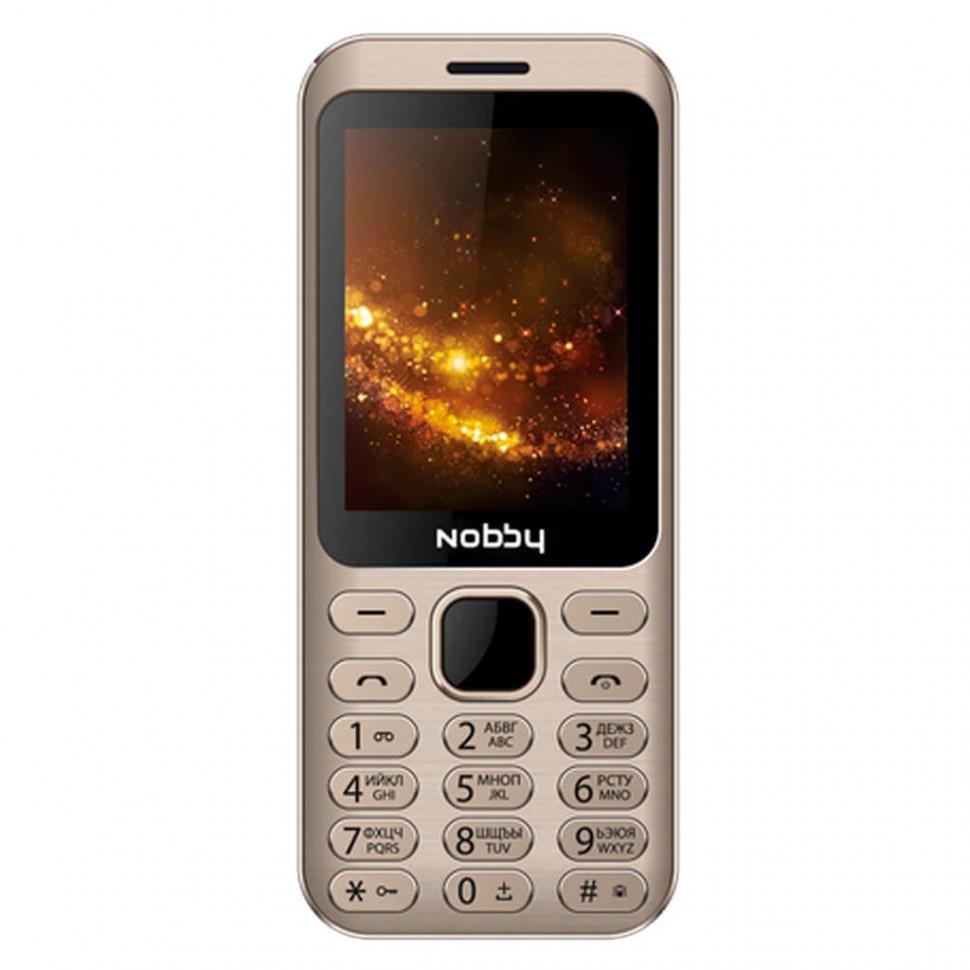 Мобильный телефон Nobby 320 золото
