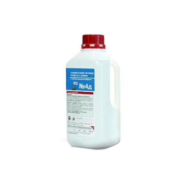 ЖМС № 4Д -Универсальное моющее средство с гипохлоритом 1 л