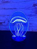 Ночник 3D Медуза, фото 2