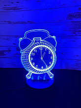 Ночник 3D Часы