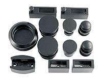 Комплект раздвижной системы DG-S-1 | FGD-185 SUS304/Black| Черный