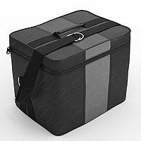 Автомобильная сумка Автолидер (30х30х20 см), Чёрный-серый