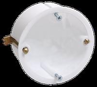 КМ40021 уст. d65х45 для полых стен (с саморезами и мет. лапками) IEK (250) NEW