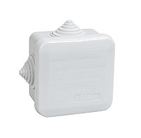 КМ41236 распаячн. для о/п 70х70х40 IP44 (4 гермоввода, с крышкой) IEK (84) NEW