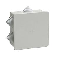 КМ41235 распаячн. для о/п 85х85х40 мм IP44 (6 гермовводов) IEK (60) NEW