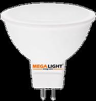 "LED ЛАМПА MR16 ""Spot"" 7W 630Lm 230V 6500K GU5.3 MEGALIGHT (10/100)"